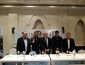 بالصور.. مؤتمر صحفى لرامى صبرى وسانشيز لدعم السياحة بشرم الشيخ