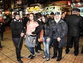 الشرطة النسائية تؤمن مداخل دور السينما لمنع التحرش فى أول أيام العيد