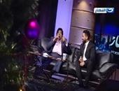 """بالفيديو.. عدوية وأحمد سعد يغنيان """"هو صحيح"""" لأم كلثوم بـ""""آخر النهار"""""""