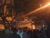 """""""النقل"""": معدية كفر الشيخ الغارقة تعمل بمجداف بدون موتور ولا تتبع الوزارة"""