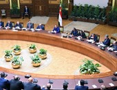بالصور..السيسى لرجال الأعمال:لايوجد أى سبب يجعلكم خائفين من الاستثمار فى مصر
