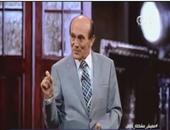 """محمد صبحى: """"اللى يقدر يعمل طبق كشرى سياسى سيمنع التعصب"""""""