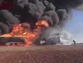 قاذفات أمريكية شنت غارات جوية على معسكرات لداعش مساء أمس خارج سرت الليبية