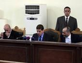 """بالصور.. وصول هيئة محاكمة المتهمين فى """"أحداث عنف كفر الشيخ"""" لمعهد الأمناء"""