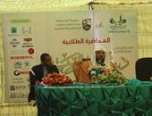 """بالصور.. محمد العريفى يحاضر بأقدم جامعات السودان حول """"حماية الفكر والإلحاد"""""""