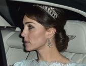 كيت ميدلتون ترتدى تاج الأميرة ديانا للمرة الأولى منذ دخولها القصر