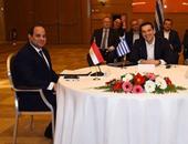 بعد قليل.. السيسي ونظيره القبرصى ورئيس وزراء اليونان يتحدثون للإعلام