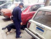 العثور على عبوة هيكلية أمام النادى الأهلى بمدينة نصر