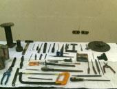 """المشدد 3 سنوات لـ""""حداد"""" بتهمة تصنيع الأسلحة النارية بالزاوية الحمراء"""