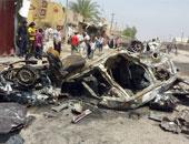 """41 قتيلا و115 مصابا فى تفجيرات بغداد ومعارك مع """"داعش"""" أعنفها بتكريت"""
