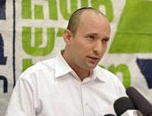 وزير التعليم الإسرائيلى يهدد بانسحاب ائتلافه من الحكومة حال عدم توليه حقيبة الدفاع