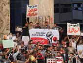 """6 إبريل """"الجبهة الديمقراطية"""" تعلن دخول أعضائها فى إضراب عن الطعام"""