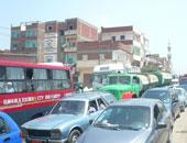 """شلل مرورى بكورنيش النيل بسبب إغلاق بوابات """"قصر العينى"""""""