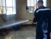 السيطرة على حريق محدود بفندق عمر الخيام بسوهاج دون إصابات بشرية