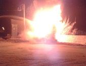 انفجار بمحول كهرباء بإحدى قرى الشرقية.. وانتقال خبراء المفرقعات