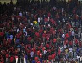 """""""استاد القاهرة"""": 1044 كرسى و5 كاميرات حصيلة تلفيات أحداث مباراة الأهلى"""