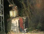 مجهولون يشعلون النار بمحول كهربائى فى الفيوم إثر إطلاق نار