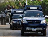 قوات الأمن تلقى القبض على 38 إخوانيا متورطين فى حرق منشآت بكرداسة