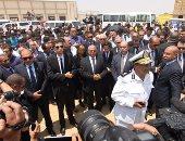 موجز أخبار مصر للساعة 1.. السيسى يتقدم الجنازة العسكرية لزويل