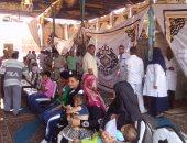 """""""زايد العطاء"""" تبدأ المرحلة الثالثة من مهامها الإنسانية فى قرى مصر"""