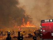 استمرار حرائق الغابات فى كاليفورنيا بسبب ارتفاع درجات الحرارة