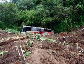 مصرع 38 شخصا فى انهيارات أرضية بسبب إعصار المكسيك