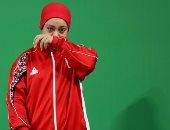 سارة سمير تخوض منافسات بطولة العالم لرفع الأثقال اليوم