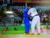 هزيمة إسلام الشهابى بطل الجودو أمام منافسه الإسرائيلى فى الأولمبياد