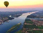 إلغاء رحلات البالون الطائر بسماء الأقصر بسبب الرياح المحملة بالأتربة