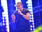 بالصور.. عمرو دياب يُشعل أجواء حفل جولف مارينا بأجمل أغنياته