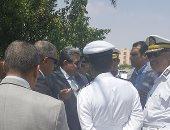 مدير أمن الجيزة يوجه قيادات قسم العجوزة بضرورة تكثيف التواجد الميدانى