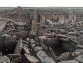 "بالصور.. العثور على بقايا هرم مدرج يشبه ""زوسر"" فى كازاخستان"