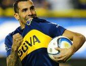 تيفيز يقود بوكا جونيورز لربع نهائى كأس الأرجنتين
