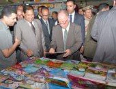 بالصور.. وزير الثقافة يتفقد معرض طنطا للكتاب بحضور محافظ الغربية
