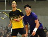 يوسف إبراهيم يتأهل إلى دور الـ16 ببطولة فرنسا المفتوحة للإسكواش