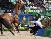 أولمبياد 2016.. الحصان يرفض فوز الفارس البريطانى بالذهبية ويرسله للجحيم