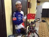 صينى يقرر الحج بواسطة دراجته الهوائية