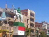 رئيس مركز مدينة الزقازيق: تجميل تمثال أحمد عرابى ومعاقبة المتسبب فى تشويهه