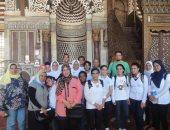 """""""الآثار والتعليم"""" تنظمان زيارات مدرسية لمعالم القاهرة لنشر الوعى الأثرى"""