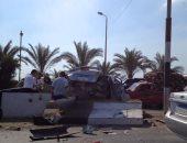 إصابة 7 أشخاص بسبب سوء الأحوال الجوية بشرم الشيخ