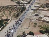 وفد من الكونجرس الأمريكى والتحالف الدولى يزور مدينة منبج شمال سوريا
