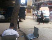 تحرير مخالفة لسيارة إسعاف بالإسكندرية.. والمرور: عطّل الطريق