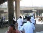 إصابة مأمور قسم شرطة المحمودية بالبحيرة خلال حملة إشغالات