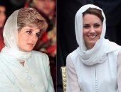 """شفت صورهم """"بالحجاب""""؟ .. من """"ديانا"""" الى """"رانيا"""" إعرفى الحكاية ورا حجاب الملكات"""
