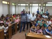 """""""آثار القاهرة"""" تنظم محاضرة للأطفال المشاركين فى برنامج جامعة الطفل"""