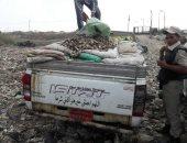 ضبط سيارة محملة بـ755 كيلو أسماك مهربة من بحيرة ناصر فى أسوان