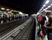 شلل بالخط الثانى للمترو بسبب تعطل قطار بين محطتى السادات والأوبرا