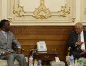 على عبدالعال يلتقى اليوم رئيس البرلمان الأفريقى ووفد فيدرالى روسى
