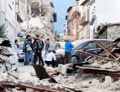 """زلزال مدمر يضرب إيطاليا.. وقتلى وجرحى فى إقليم """"ماركى"""""""