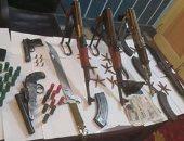 القبض على عاطل يدير ورشة لتصنيع الأسلحة النارية فى أوسيم
